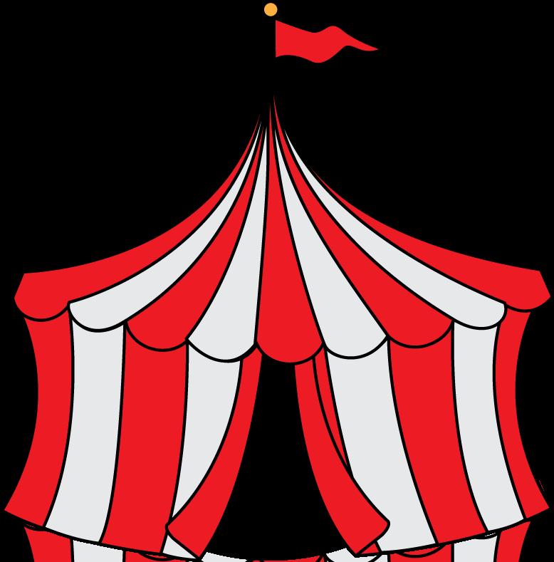 778x789 Carnival Tent Clipart Carnival Clip Art Circus Party Invitation