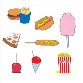 273x273 Carnival Food Vector Clip Art Clipart Panda