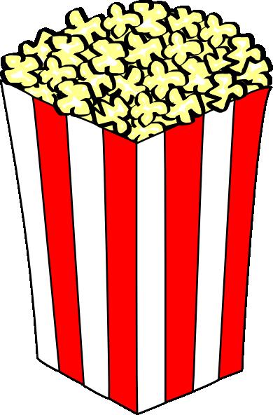 390x592 Carnival Clipart Popcorn Container