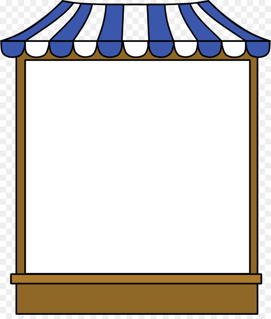 900x1060 Tent Food booth Clip art