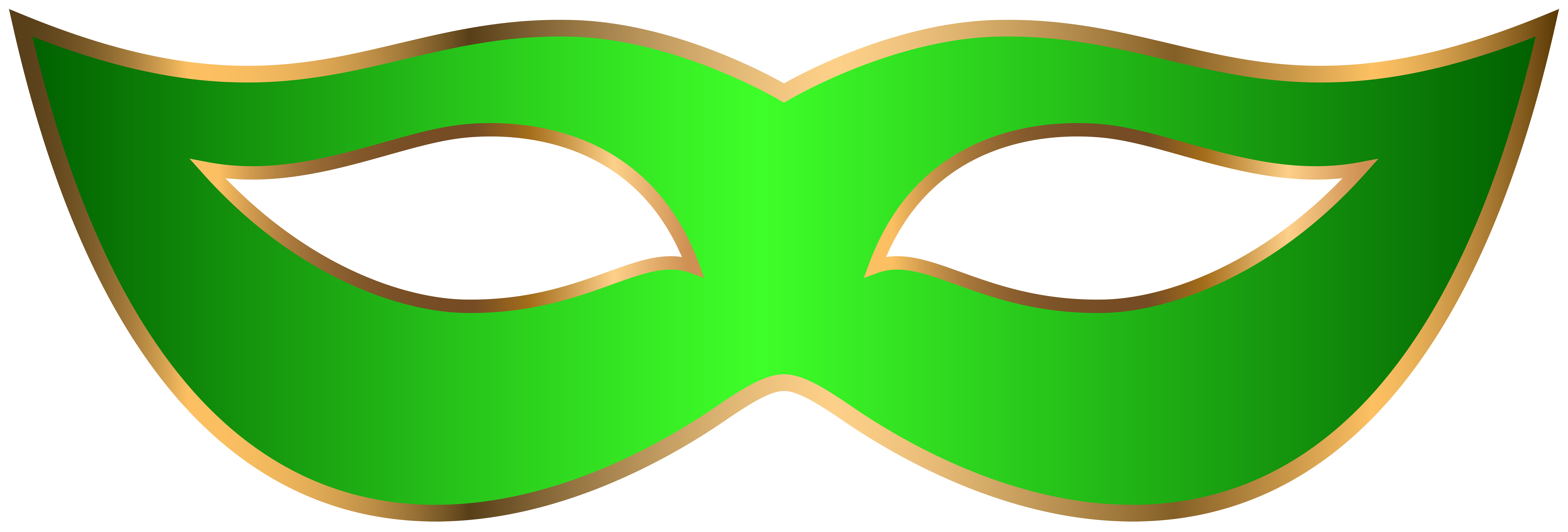 8000x2715 Green Carnival Mask Png Clip Art Transparent Imageu200b Gallery