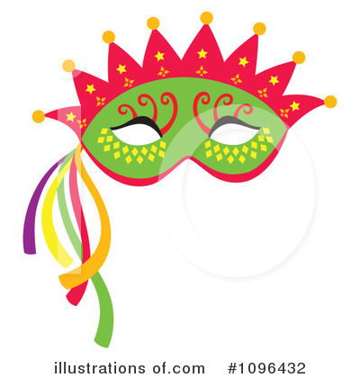 400x420 Mask Clipart