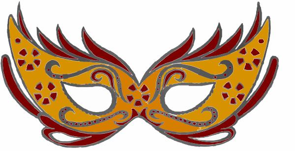 600x307 Maskara Maszk Clip Art At Clker Com Vector Clip Art Online
