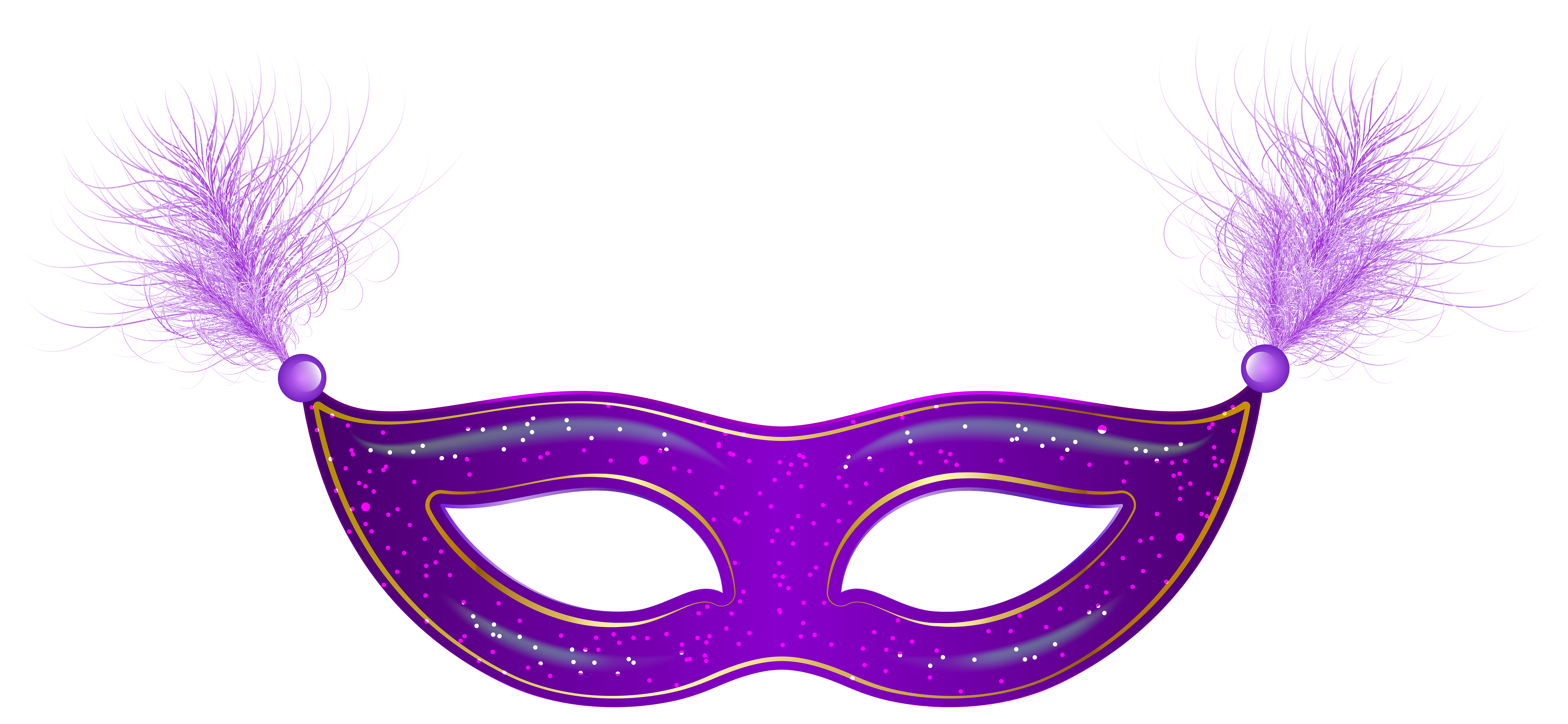 8000x3695 Purple Carnival Mask Clip Art PNG Imageu200b Gallery Yopriceville