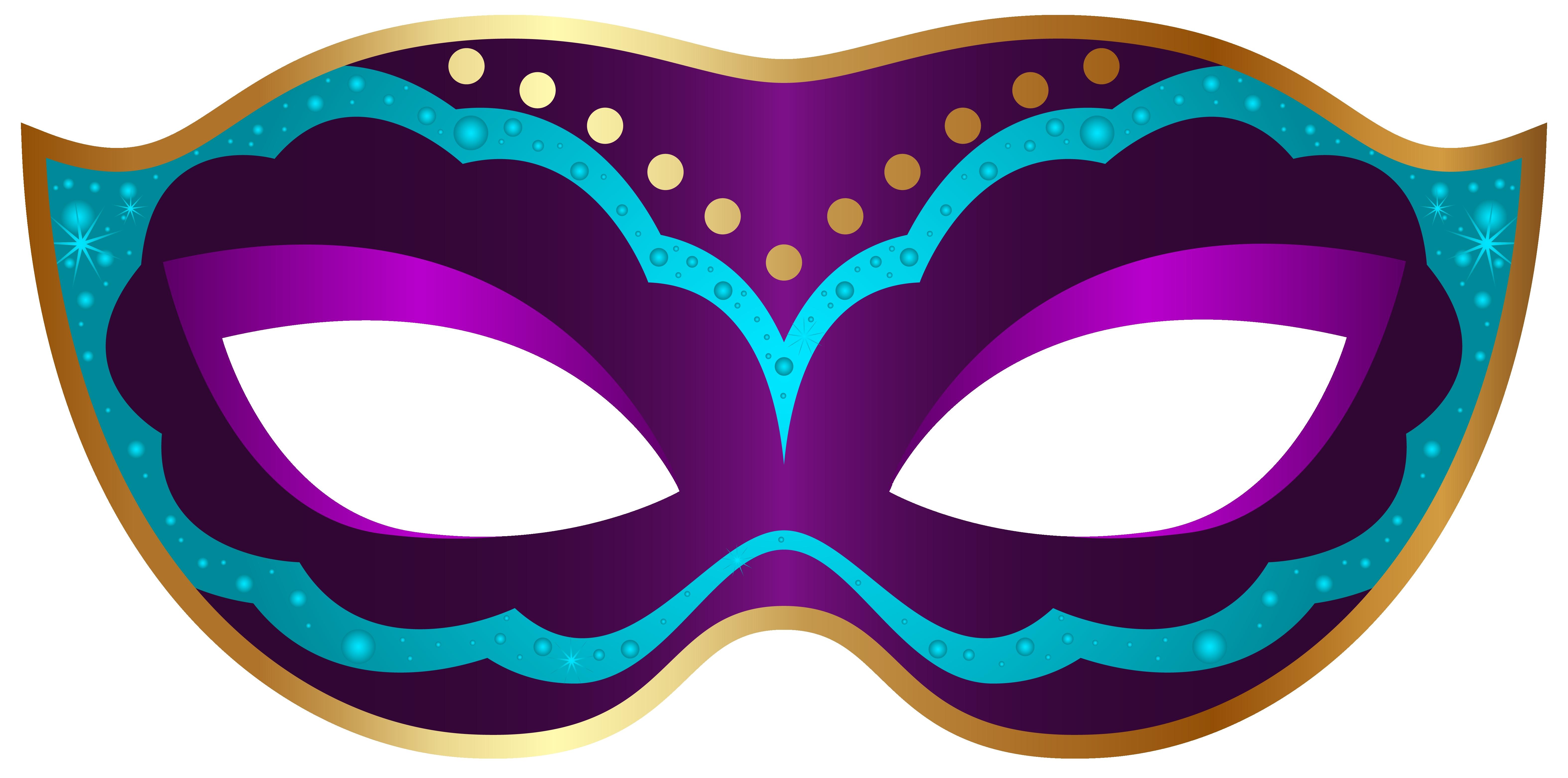 6298x3124 Unique Mask Clipart Design
