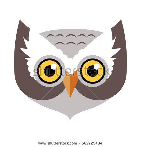 450x470 Owl Face Clipart Stock Vector Owl Bird Carnival Mask Vector