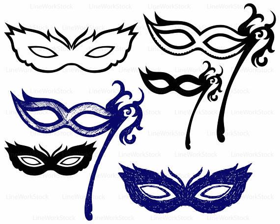570x456 Carnival Masks Svgcarnival Clipartmasks Svgcarnival
