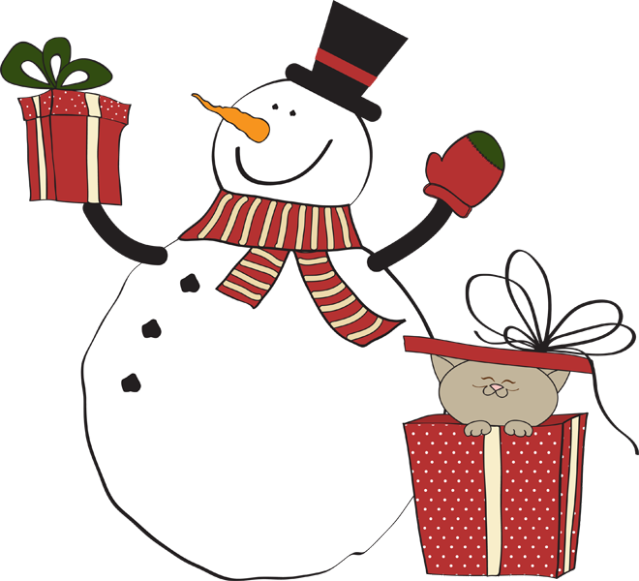 639x581 Great Clip Art Of Snowmen And Carolers Snowman Gifts And Kitty