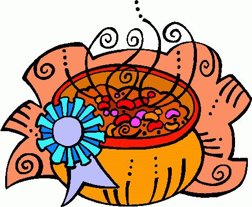 490x404 Chili Supper Clip Art