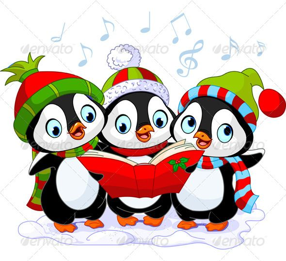 590x538 Christmas Carolers Clipart Black And White