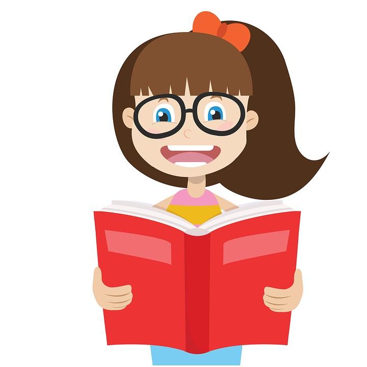 720x720 Cartoon Boy Reading Book 4407242
