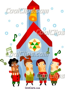 225x308 Children Singing Christmas Carols