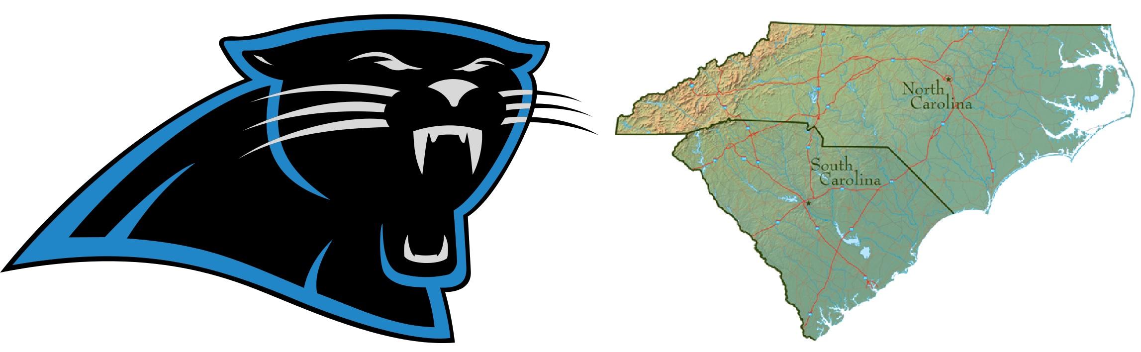 2294x708 Logo Clipart Carolina Panthers