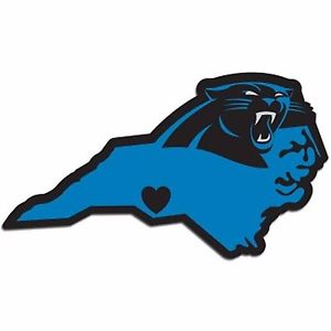 300x300 Nfl Carolina Panthers Home State Auto Car Window Vinyl Decal