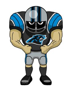 236x295 Panther Clipart Football Player