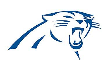 355x274 Carolina Panthers Logo vinyl Sticker Decal (4 x 2.2