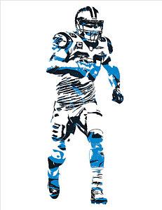 231x300 Carolina Panthers Art