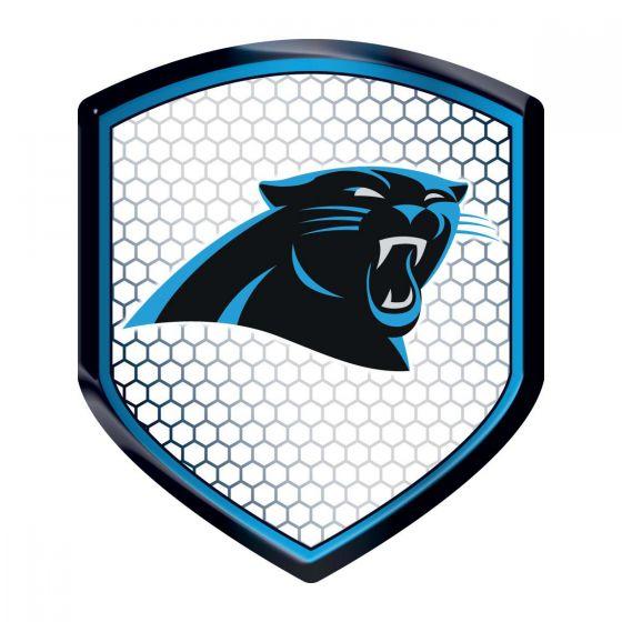 560x560 Carolina Panthers Shield Reflector