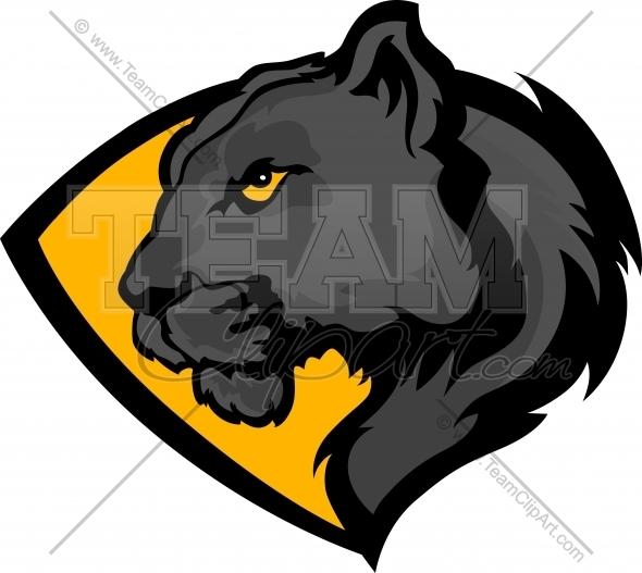 590x527 Panther Logos Clip Art