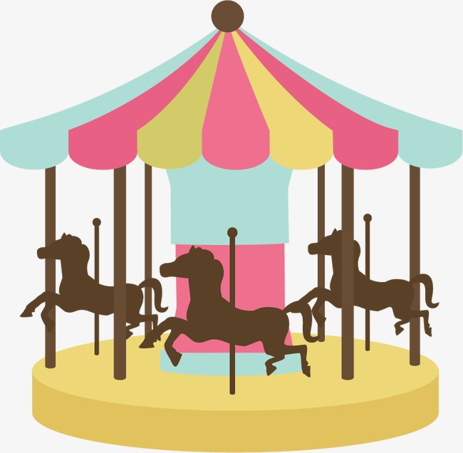 650x636 Cartoon Carousel, Recreational Facilities, Childhood Dream