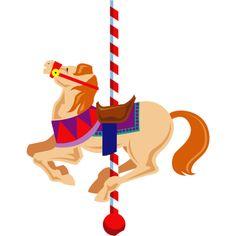 236x236 Free Clip Art Carousel Horse Carousel Horse Clipart Image