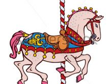 220x165 Carousel Horse Clip Art Bright Elegant Smart Carousel Horse Vector
