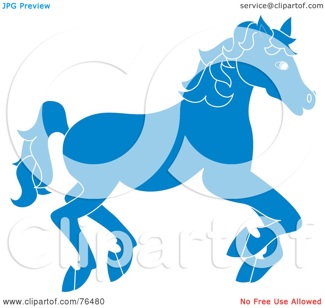 1080x1024 Royalty Free (Rf) Clipart Illustration Of A Running Blue Carousel