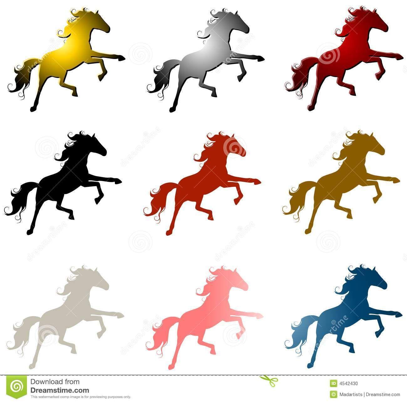 1300x1286 Clip Art Horses Running