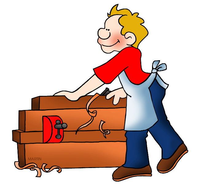 648x612 Unthinkable Carpenter Clipart Occupations Clip Art By Phillip