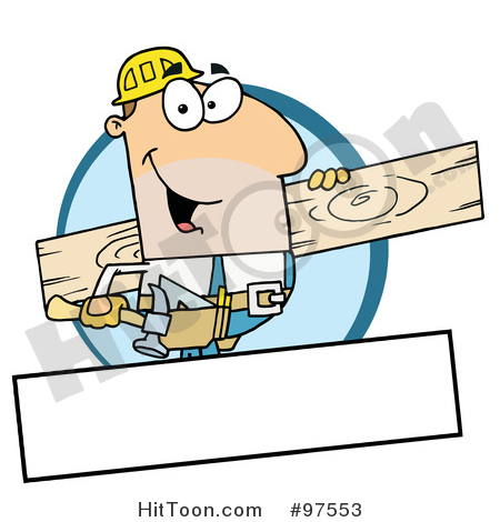 450x470 Carpenter Clipart