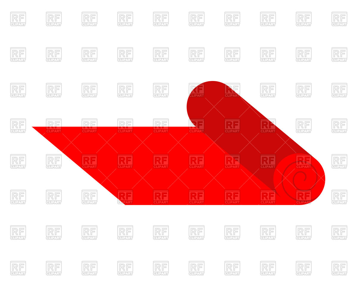 1200x964 Red Carpet On Roll Royalty Free Vector Clip Art Image