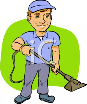 293x350 Royalty Free Clip Art Image Carpet Cleaner Service