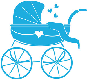 300x275 Free Baby Carriage Clipart Image 0515 1101 2704 3107 Baby Clipart