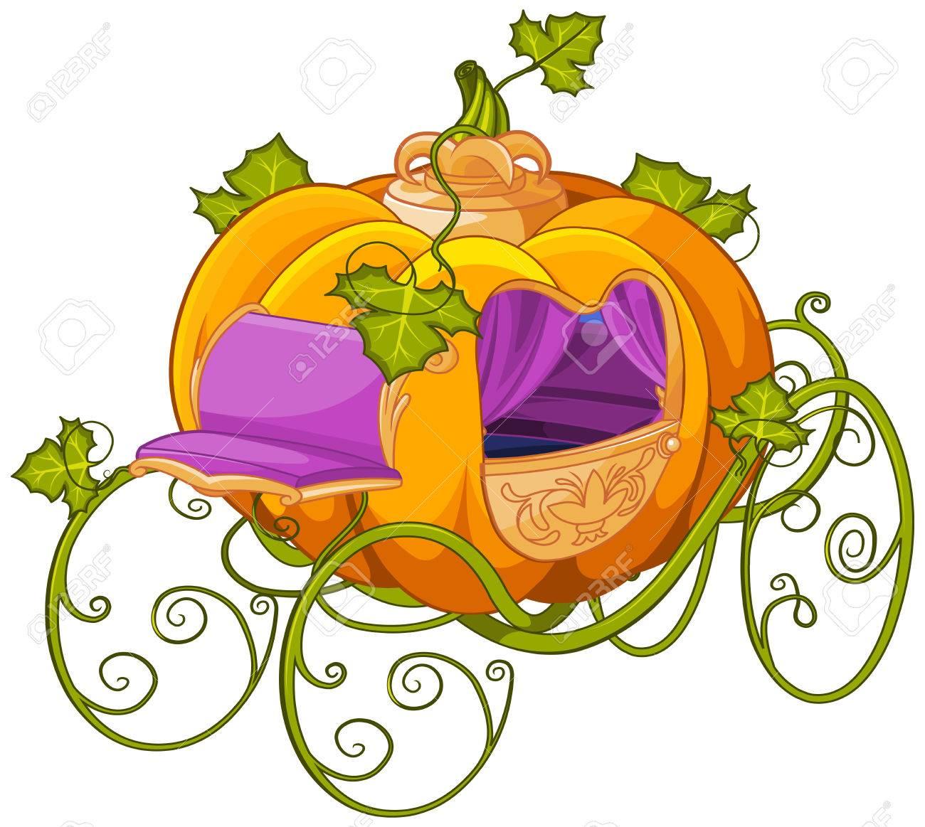 1300x1163 Pumpkin Carriage Clipart
