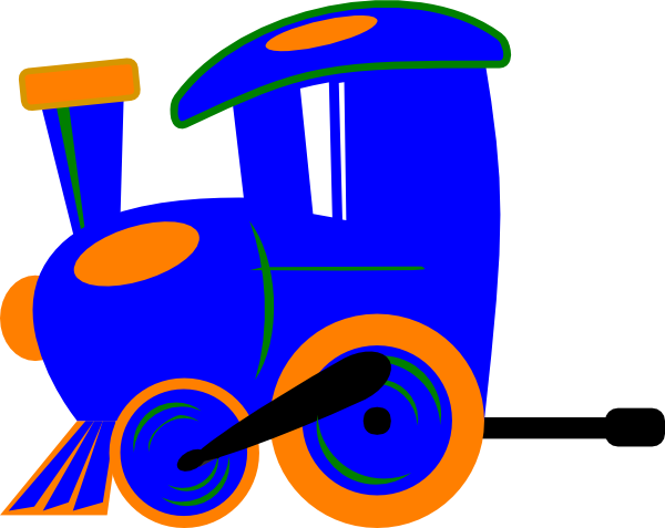 600x477 Toot Toot Train And Carriage Clip Art