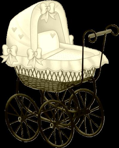 400x499 Yellow Baby Carriage Clip Art Dla Dzieci (Obrazy)
