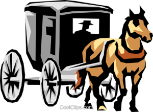 300x219 Horse And Carriage Clipart Horse Drawn Carriage Royalty Free