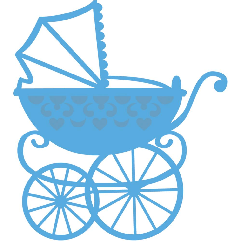 1000x1000 Baby Carriage Clipart