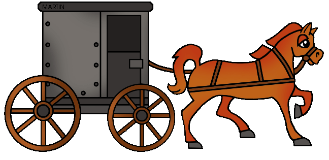 648x315 Carriage Clipart Pioneer