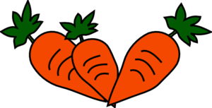 300x153 Carrots Clip Art