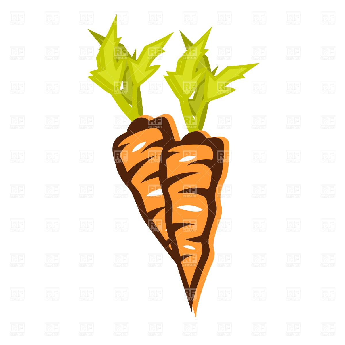 1200x1200 Carrot Royalty Free Vector Clip Art Image