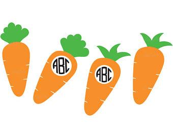 340x270 Carrot Cut File Etsy