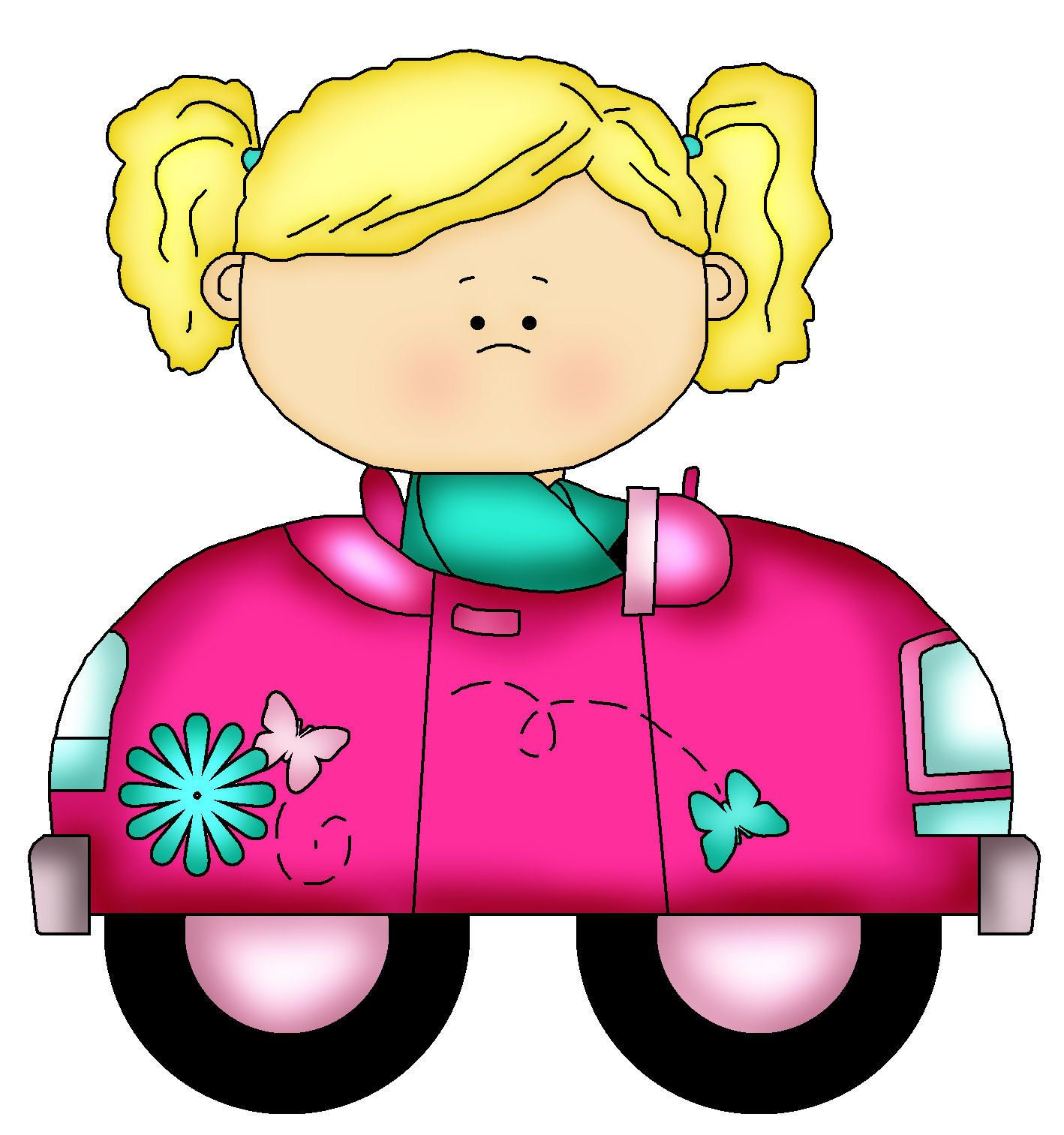 1418x1513 Kids In Cars 2 Clipart~fun Time Outdoors~ Clip Art