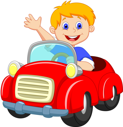 484x500 Cars Clipart Boy Driving Red Car Clip Art Sunday Clipart