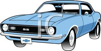 350x178 American Car Clipart