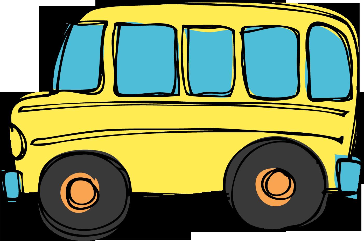 1404x932 School Bus Clip Art Black And White Image
