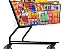 220x165 Grocery Cart Clipart Shopping Cart Vector Illustration Clip Art