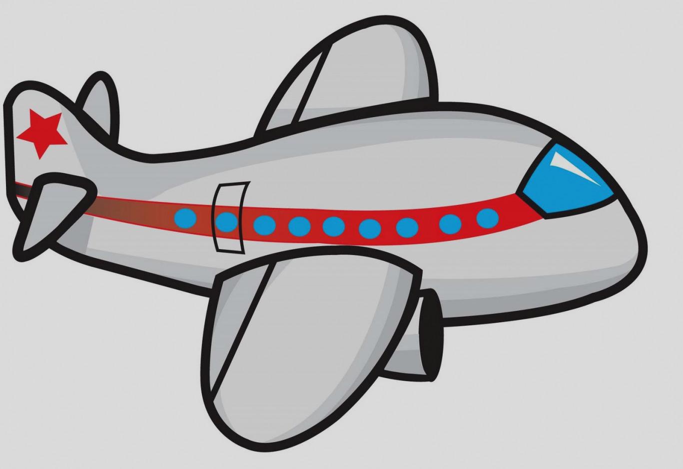 1367x940 Cartoon Airplane Clipart Free