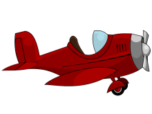 220x165 Cartoon Airplane Clipart Graphic Design Clip Art Airplanes And Toy
