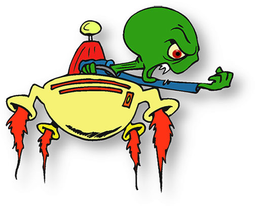 Cartoon Alien Clipart